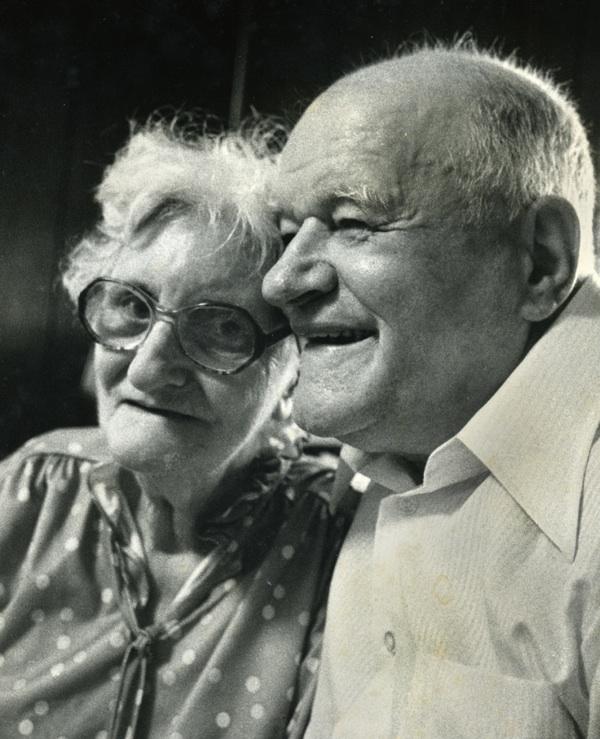 Nora and Teddy Welch. (Copyright John S. Stewart/LEFTeyeSTORIES.com)
